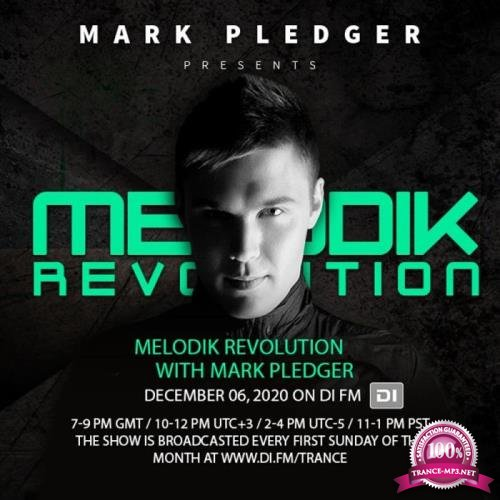 Mark Pledger - Melodik Revolution 101 (2021-06-07)