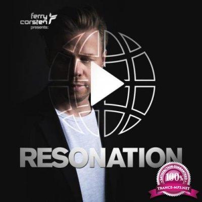 Ferry Corsten - Resonation Radio 037 (2021-08-11)