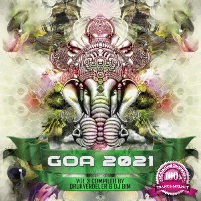 Goa 2021 Vol 3 (Compiled by Drukverdeler & DJ Bim) (2021)