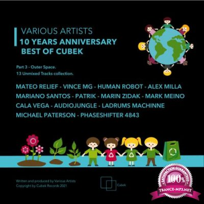 10 Years Anniversary Best of Cubek, Pt. 3 (Outer Space) (2021)