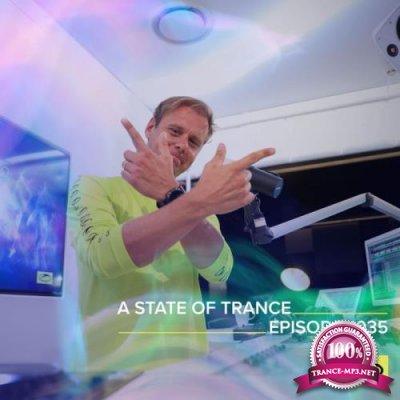 Armin van Buuren & Ruben De Ronde & Mark Sixma - A State of Trance ASOT 1035 (2021-09-23)