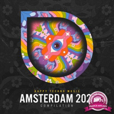 Happy Techno Music - Amsterdam 2021 (2021)